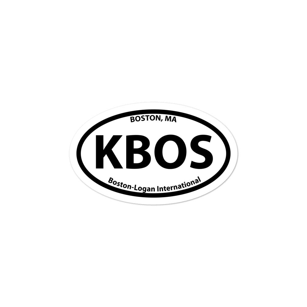 KBOS / BOS - Boston-Logan International - Sticker