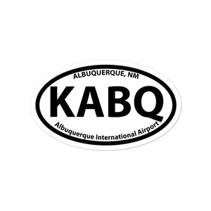 KABQ / ABQ - Albuquerque International - Sticker