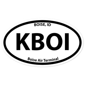 KBOI / BOI - Boise Air Terminal - Sticker