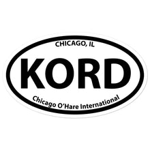 KORD / ORD - Chicago-O'Hare International - Sticker