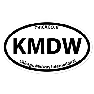 KMDW / MDW - Chicago-Midway - Sticker
