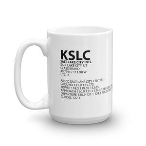 KSLC / SLC - Salt Lake City International - Mug
