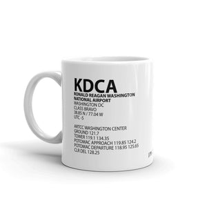KDCA / DCA - Ronald Reagan Washington National - Mug