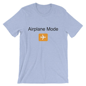 Airplane Mode - Unisex short sleeve t-shirt