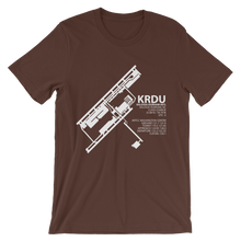 KRDU / RDU - Raleigh-Durham International - Unisex short sleeve t-shirt