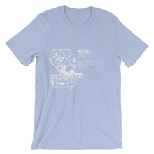 KORD / ORD - Chicago-O'Hare International - Unisex short sleeve t-shirt