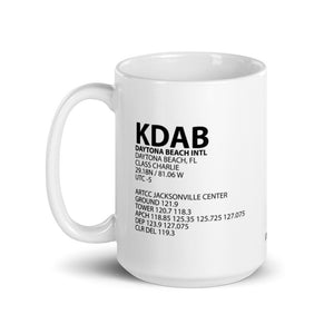 KDAB / DAB - Daytona Beach International Airport - Mug