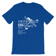KMLI / MLI - Quad Cities - Unisex short sleeve t-shirt