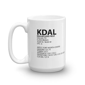 KDAL / DAL - Dallas Love Field - Mug