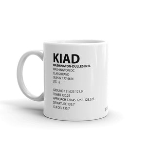 KIAD / IAD - Washington-Dulles International - Mug