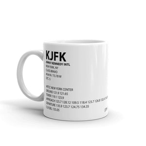 KJFK / JFK - John F. Kennedy International - Mug