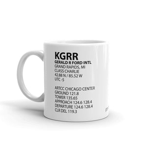 KGRR / GRR - Gerald R. Ford International (Grand Rapids) - Mug