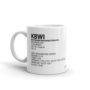 KBWI / BWI - Baltimore/Washington International - Mug