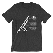 KBIX / BIX - Keesler Air Force Base - Unisex short sleeve t-shirt