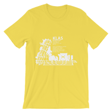 KLAS / LAS - McCarren International (Las Vegas) - Unisex short sleeve t-shirt