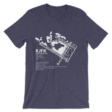KJFK / JFK - John F. Kennedy International - Unisex short sleeve t-shirt