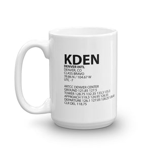 KDEN / DEN - Denver International - Mug