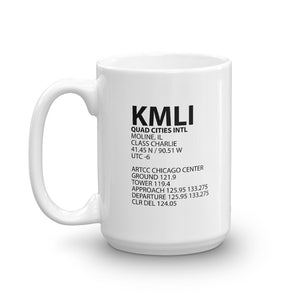 KMLI / MLI - Quad Cities - Mug