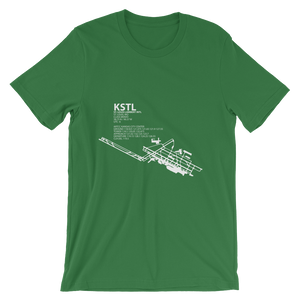 KSTL / STL - St. Louis Lambert International - Unisex short sleeve t-shirt