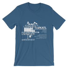 KATL / ATL - Hartsfield-Jackson Atlanta International - Unisex short sleeve t-shirt