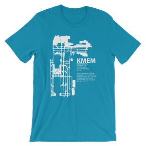 KMEM / MEM - Memphis International - Unisex short sleeve t-shirt