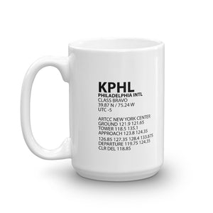 KPHL / PHL - Philadelphia International - Mug