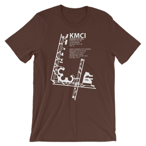 KMCI / MCI - Kansas City International - Unisex short sleeve t-shirt