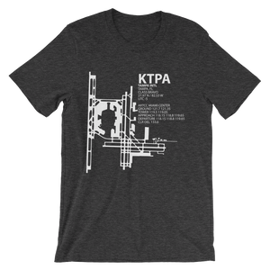 KTPA / TPA- Tampa International - Unisex short sleeve t-shirt