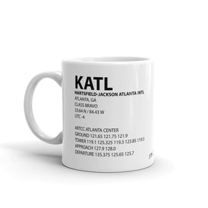 KATL / ATL - Hartsfield-Jackson Atlanta International - Mug