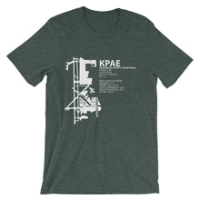 KPAE / PAE - Snohomish Country/Paine Field - Unisex short sleeve t-shirt