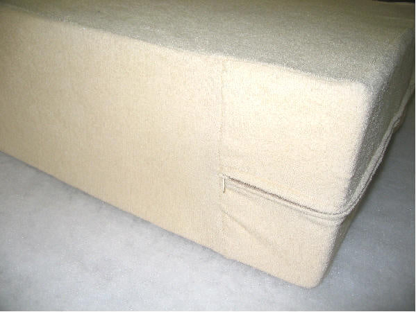 Full Foam Mattress 54'' x 75'' - Luxury with Terry Cloth Cover