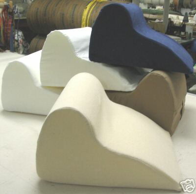 Custom Foam Neck Comfort Wedge with Terry Cover