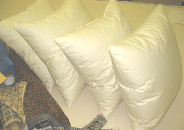 Custom Feather and Down Pillow Inserts