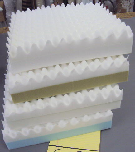 High Density Eggcrate Foam