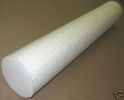 Polyethylene Foam Round Bolster for Yoga and Physical Therapy