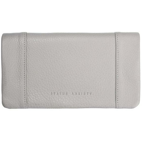 STATUS ANXIETY SOME TYPE OF LOVE GREY WALLET