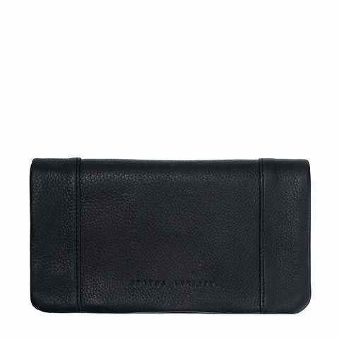 STATUS ANXIETY SOME TYPE OF LOVE BLACK WALLET