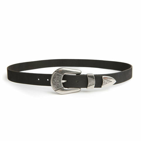 STITCH & HIDE EDEN BELT BLACK M/L