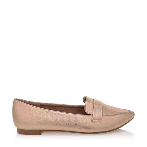 BILLINI DYLON ROSE GOLD TEXTURE FLAT