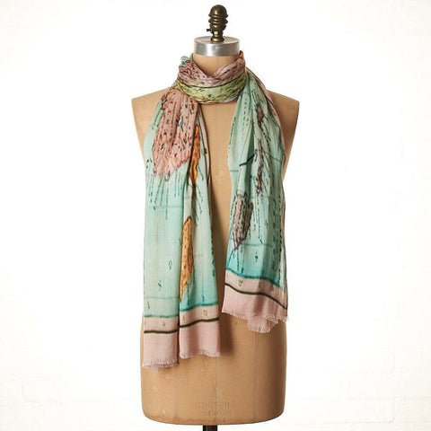 LEE GARRETT AUSSIE MAP SCARF