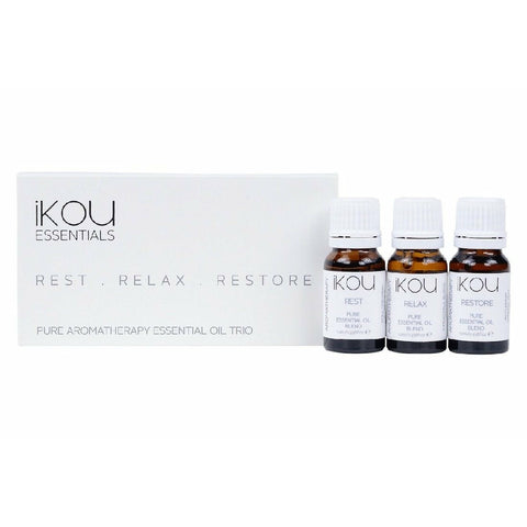iKOU ESSENTIAL OIL TRIO REST, RELAX & RESTORE