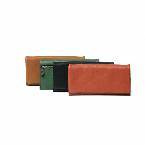 ORAN SCARLETT LEATHER WALLET