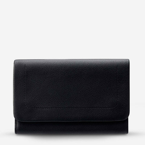 STATUS ANXIETY REMNANT WALLET BLACK