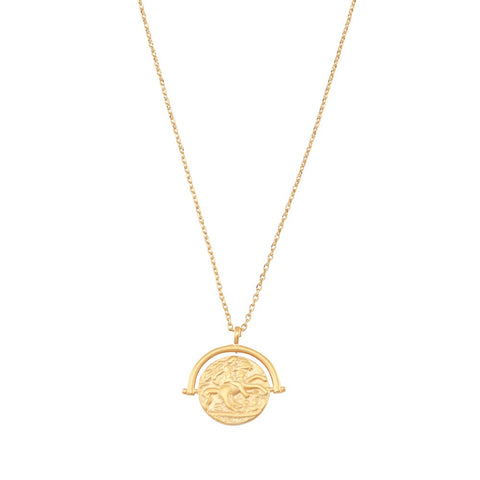 JOLIE & DEEN TOBIE COIN NECKLACE