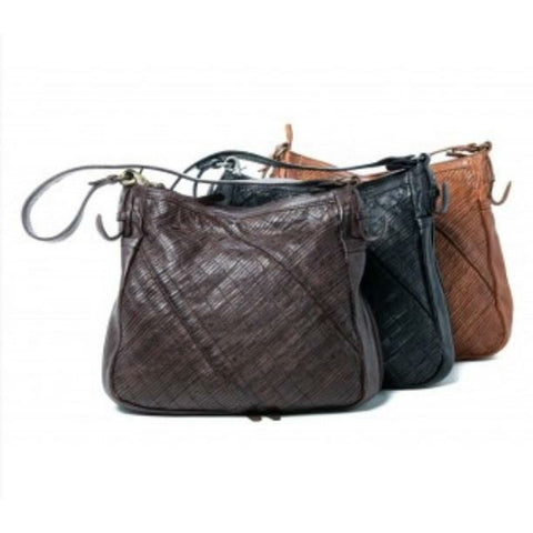 ORAN DEBBIE LEATHER HANDBAG