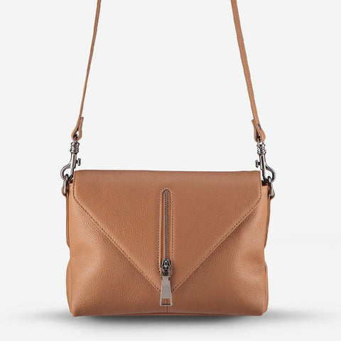 STATUS ANXIETY EXILE HANDBAG TAN