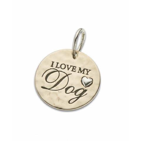 PALAS I LOVE MY DOG CHARM