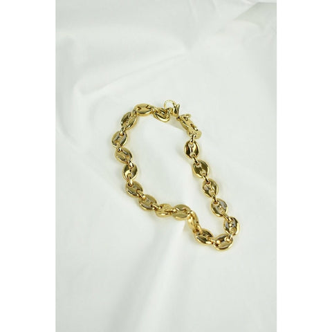 PETA AND JAIN SKYLAR CHAIN LINK BRACLET - GOLD