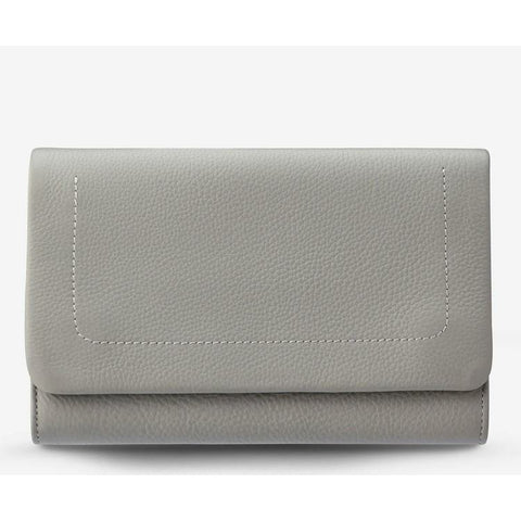 STATUS ANXIETY REMNANT WALLET - LIGHT GREY