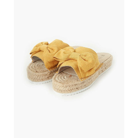 WALNUT MIA ESPADRILLE - PRIMROSE YELLOW